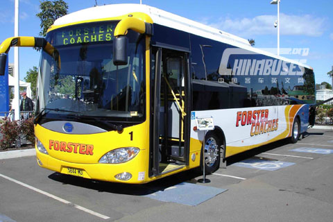 Chtc Bonluck Bus Hightlights Australian Bus Expo 2011