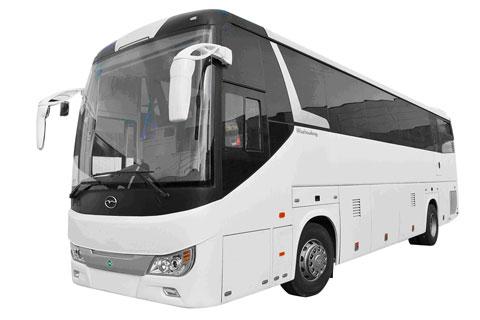 Wuzhoulong Bus FDG6128CNG+Shangchai SC9DT320Q3 engine