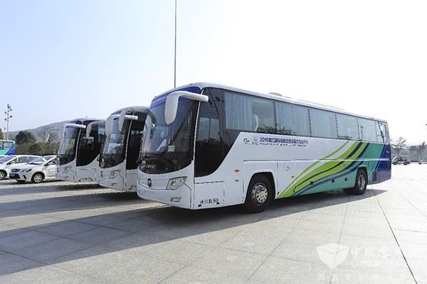 Foton AUV Buses Designated as Official Vehicles for International Low-Carbon Expo