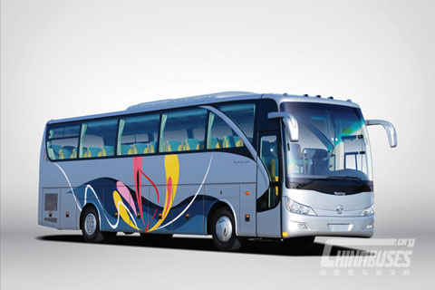 ASIASTAR Bus YBL6128HQ+Weichai Power WP10.336N engine