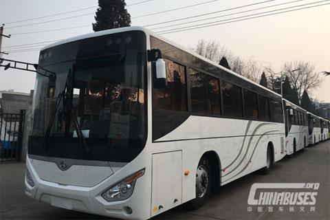 Changan Bus SC6105 (Semi Low Floor)+Dongfeng Cummins