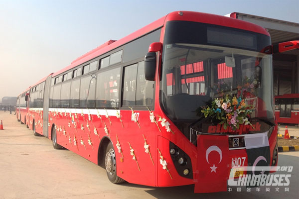 """Sunwin SWB6180: Recommend """"Pakistan Star"""" of China Buses"""