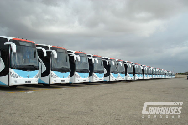 """Asiastar YBL6123H: Recommend """"Angola Star"""" of China Buses"""