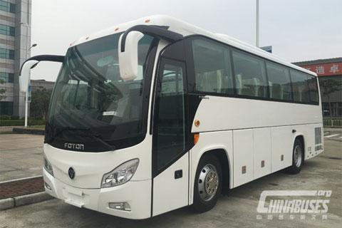 AUV Bus BJ6902TD+YUCHAI YC6J245-30 engine