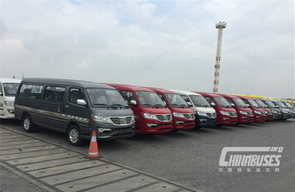 10,000 Units King Long Minivans Work Smoothly in Bolivia
