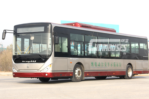 Zhongtong Bus LCK6122EVG Electric Bus