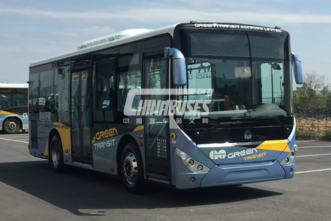 Zhongtong Bus LCK6900G+Cummins ISB4.5E5 207B engine