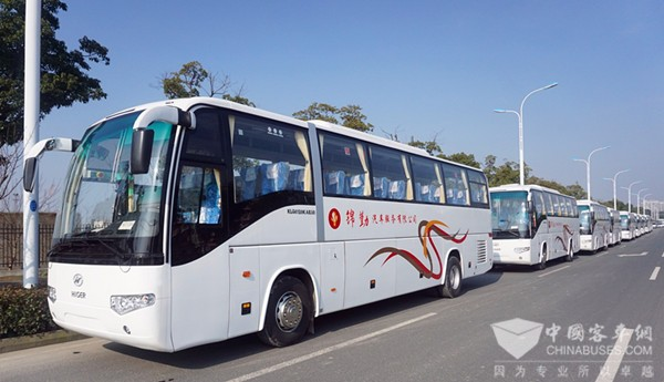 Youngman Delivered Electric Buses to its Customers at the Year End