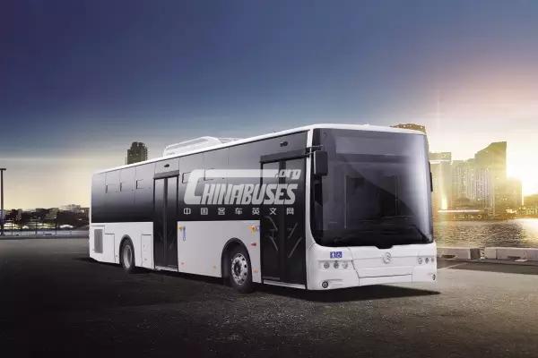 Golden Dragon XML6125 Euro-VI City Bus: 2016 Israel Star