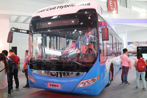 Yutong Sold 26,856 Units New Energy Buses in 2016