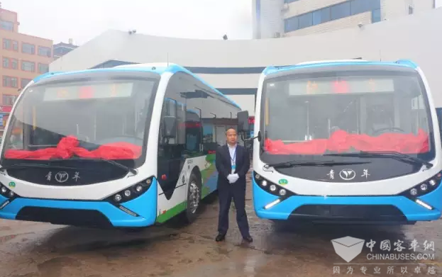 88 Units Youngman Electric City Bus Delivered to Pujiang for Operation