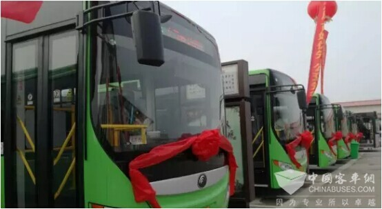 610 Units Yutong Electric Buses Went into Operation in Kaifeng