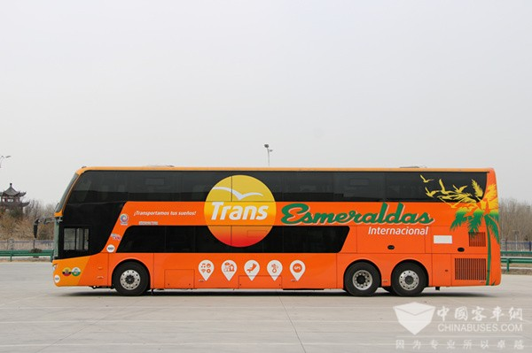 50 Units Zhongtong Luxury Double-Deckers to Arrive in