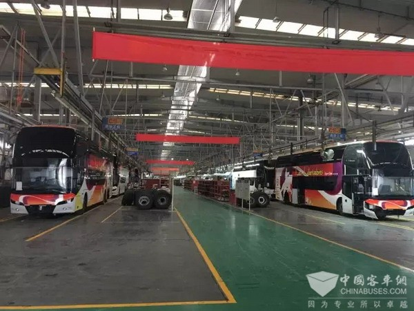 Youngman Luxury Double-deckers to Be Delivered to Chile Soon