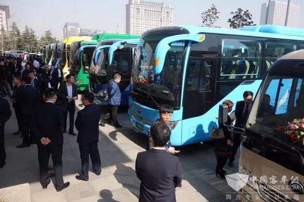 400-plus Big Heads Gathered at Yutong, Discussing New Energy Public Transportation