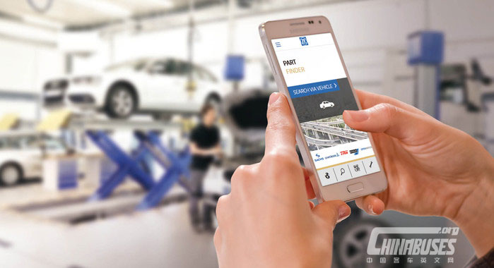 ZF Aftermarket launches Openmatics and Part Finder App at ACMA Automechanika