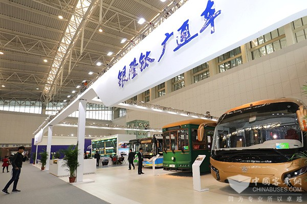 Yinlong New Energy Makes a High-profile Appearance at 2017 Tianjin Bus Exhibition