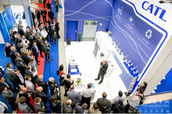 CATL Presents its Industry-Leading Products at The Battery Show Europe