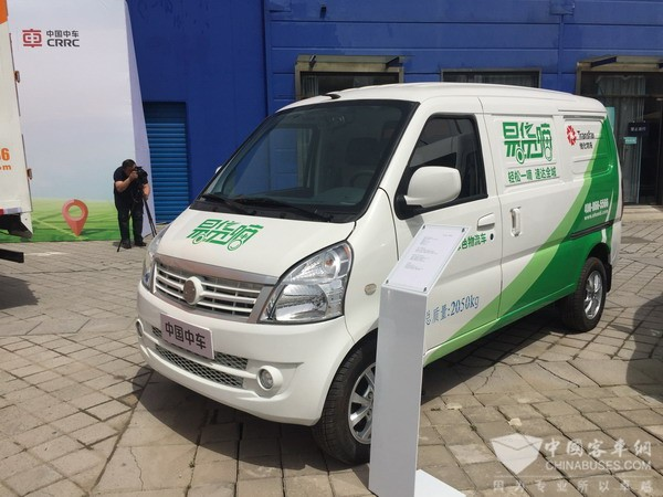 """CRRC Times Electric Releases """"Internet +"""" Electric Logistic Vehicles"""