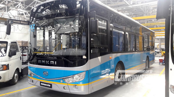 Kazakhstan Starts Producing Ankai Buses