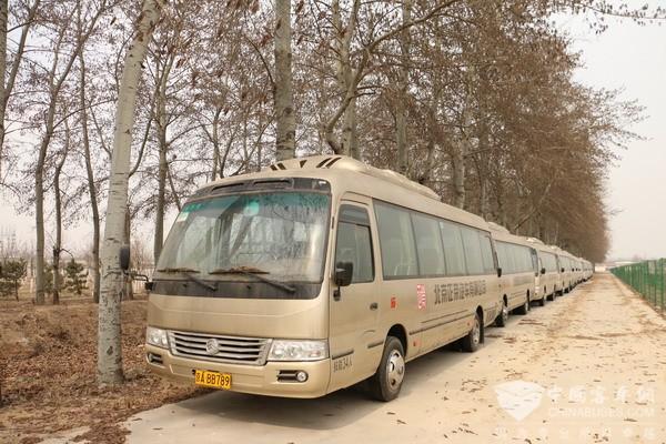 Zhengro Joins Hands with Golden Dragon in Exploring New Energy Bus Rental Market