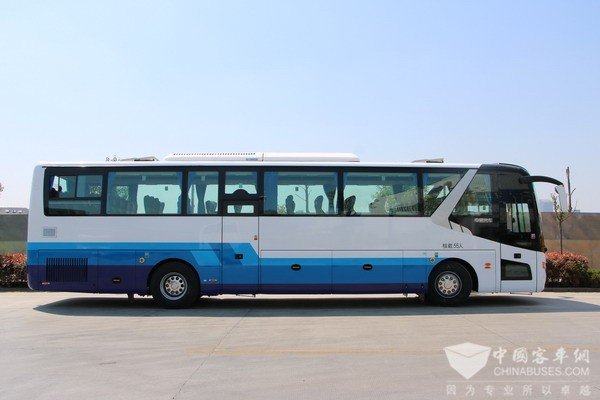 Zhongtong Secures an Order of 500 Units Travel Coaches in Beijing