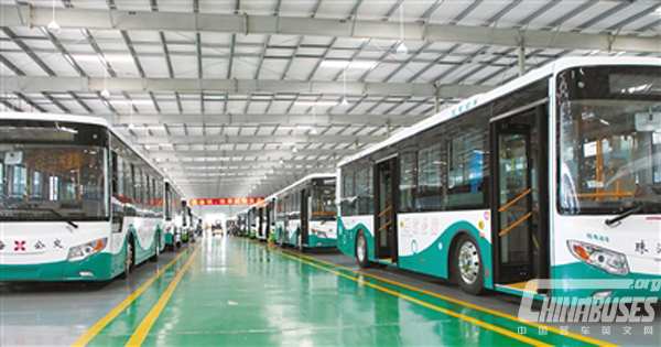 Yinlong Laid Foundations for its Lanzhou Guangtong New Energy Vehicle Production Base
