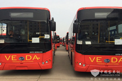 Bonluck Buses Drive Smoothly on One Belt One Road