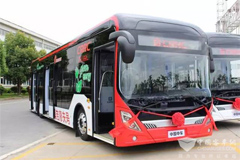 CRRC Electric Buses Sent to Belarus for Operation