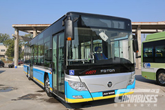 1,320 Units Foton AUV Electric Buses to Be Delivered to Beijing Public Transport for Operation in September