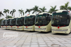 Wuzhoulong New Energy Buses Shipped to Sudan for Operation