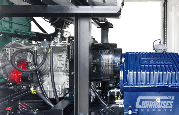 WOMA High-pressure Water Cleaner With an Allison Transmission