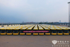 598 Units Changan School Buses Shipped to the Middle East for Operation