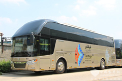 Zhongtong Joins Hands with Dongfeng Cummins in Winning the High-end Bus Market in Saudi Arabia