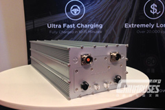 Microvast Showcases Battery System with Drive Freely With Ultra Fast Charging Technology