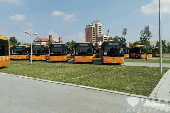 Yutong Buses Highly Appreciated in Bulgarian Capital