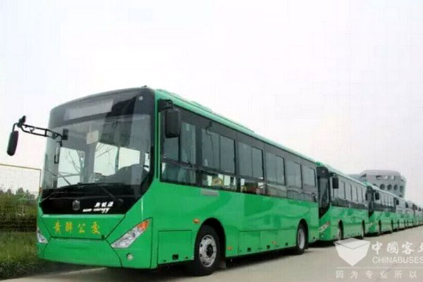 56 Units Zhongtong Electric Buses to Arrive in Beijing for Operation