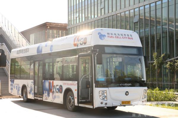 Foton Zhangjiakou Fuel Cell Vehicle Production Lines Start Operation