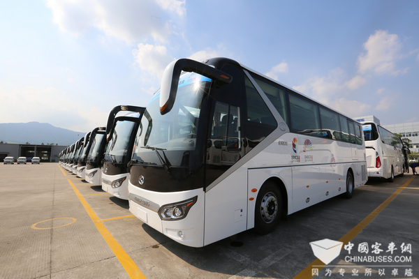 220 Units King Long Buses Fully  Serve BRICS