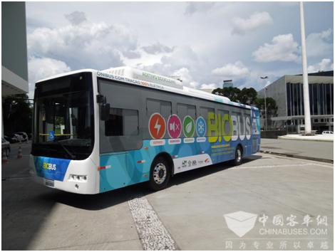 CRRC buses in Brazil