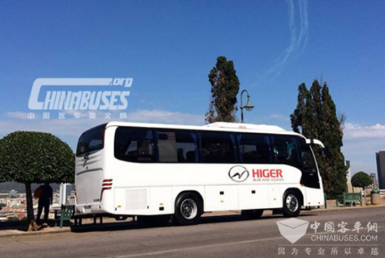 Higer buses in South Africa