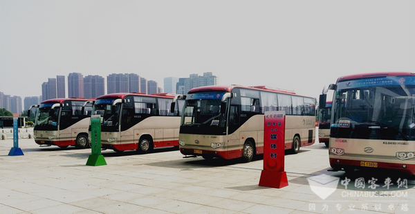 500 Units Higer Buses Serve the 13th China National Games