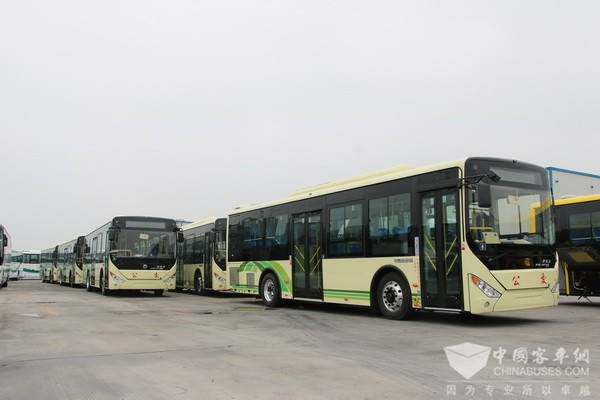 Zhongtong Secures an Order of 200 Units Plug-in Hybrid City Buses from Zibo