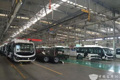 142 Units Youngman Electric City Buses Ready for Their Delivery to Xi'an Shuntong