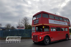 1962 Routemaster with Allison transmission gains Low Emission Bus certification