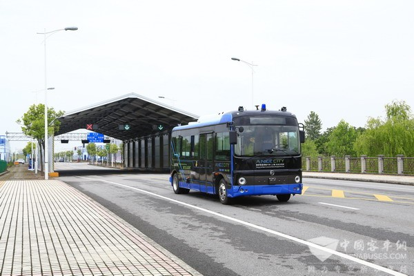 Golden Dragon Takes the Lead in Developing Driverless Buses