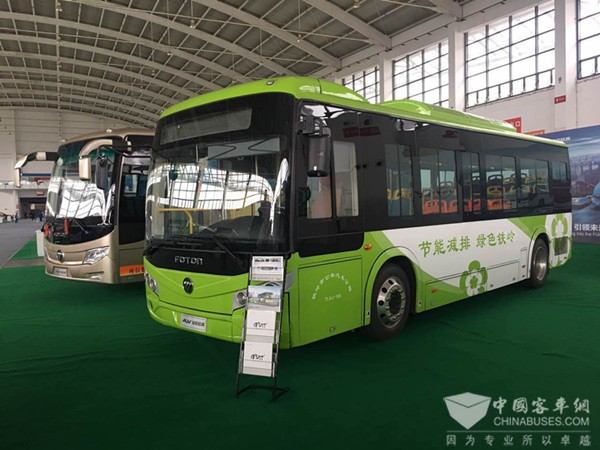 Foton AUV Attends China Smart City International Expo