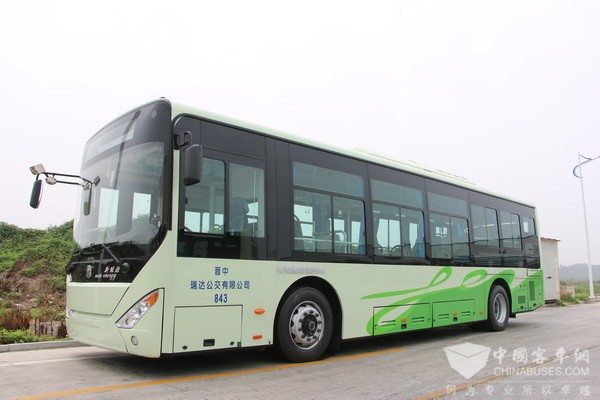 Zhongtong Secures an Order of 347 Units 10.5-meter Electric City Buses from Qingdao