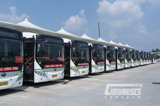 Yutong electric buses boost the e-mobility in Shangqiu city