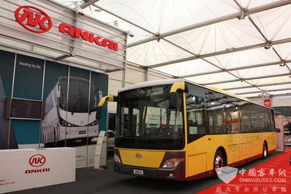 Ankai Ready to Attend Busworld Exhibition